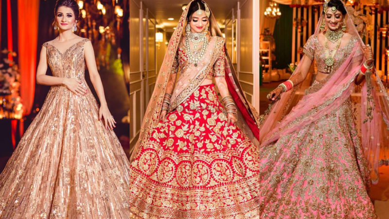 Fabulous Brides in Spectacular Wedding Outfits by Manish Malhotra