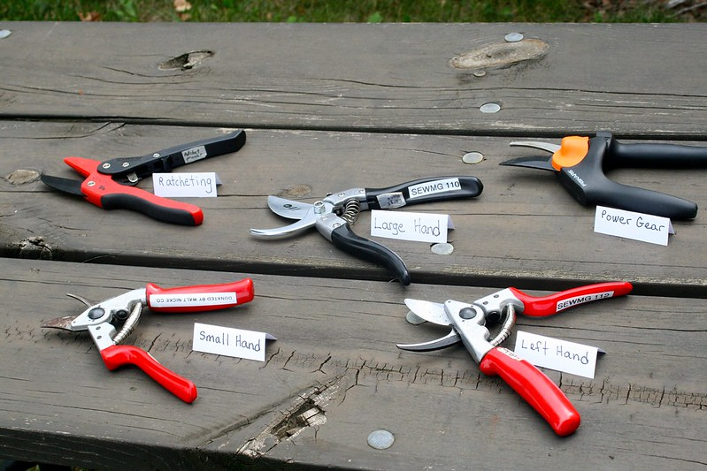 Hand Pruners For the Disabled