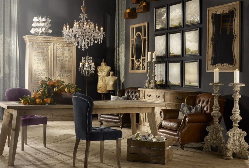 Old Fashioned Vintage Furniture and Interiors
