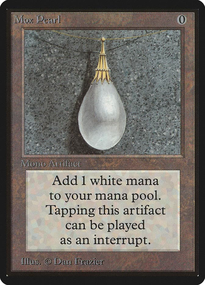 The most expensive MTG cards - Mox Pearl