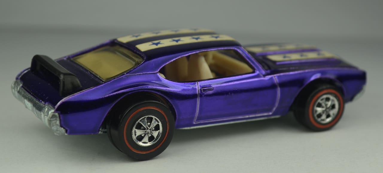 Most Expensive Hot Wheels - 1971 Purple Olds 442