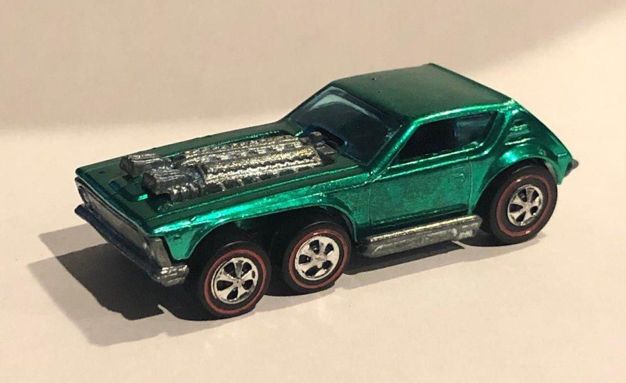 Most Expensive Hot Wheels - 1972 Green Open Fire