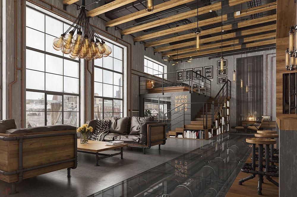 Urban Industrial Furniture and Interiors