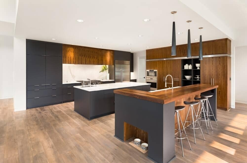 Wooden Floors in Kitchens