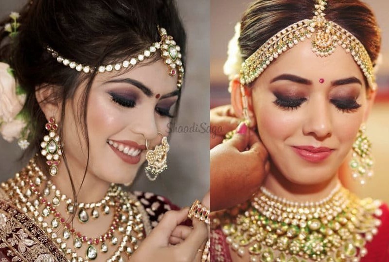 Brides 'Smokey Eye' Makeup Look