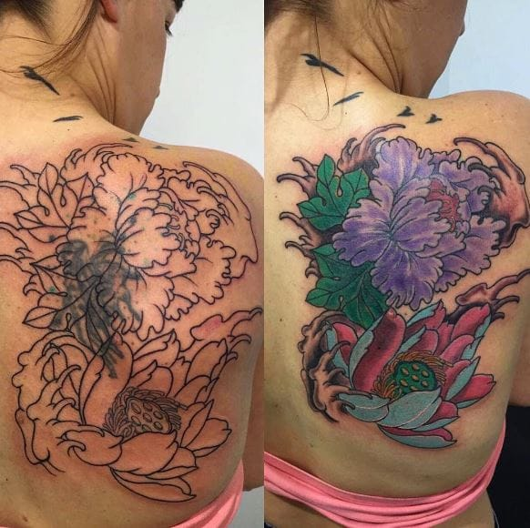 Top Female Cover Up Tattoos For Women (2020)
