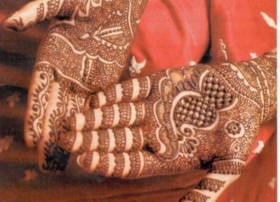 Traditional Indian Mehndi Designs for hands