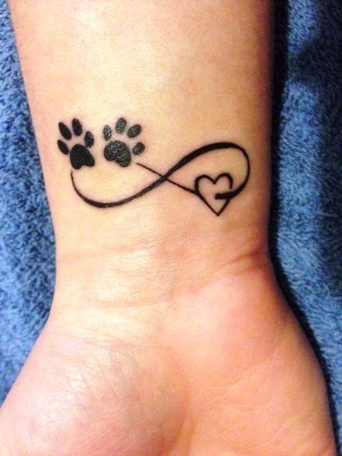 Dog Love Tattoo