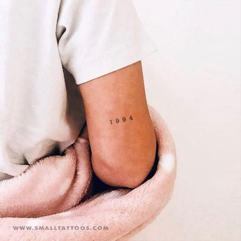Roman Numerals On Forearm (4)