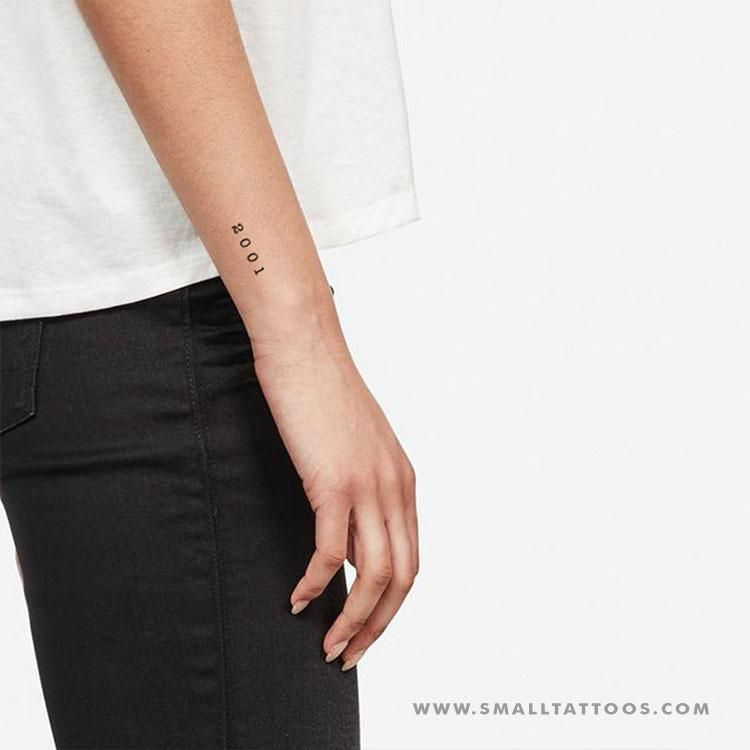Roman Numerals On Forearm (6)