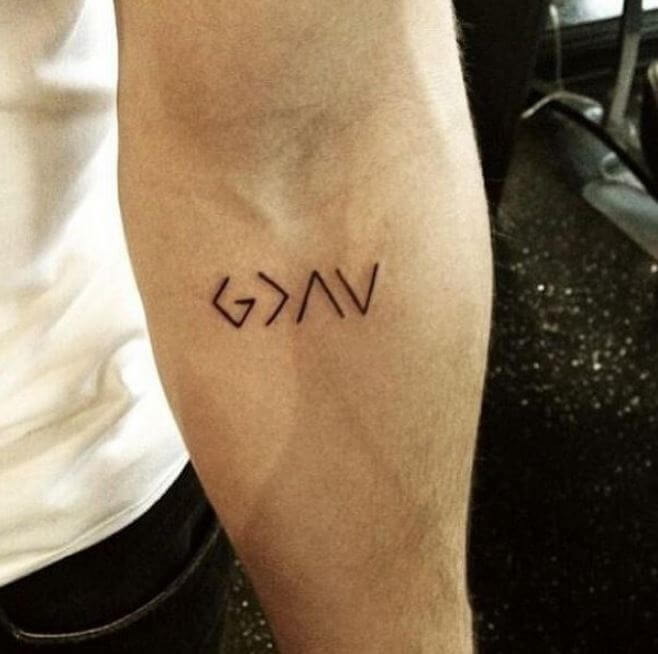 Small simple tattoos for men