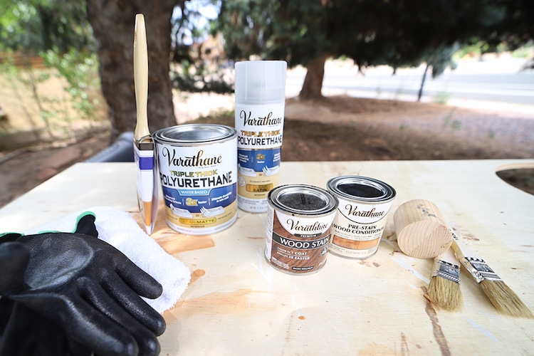 How to color soft woods with Varathane Premium