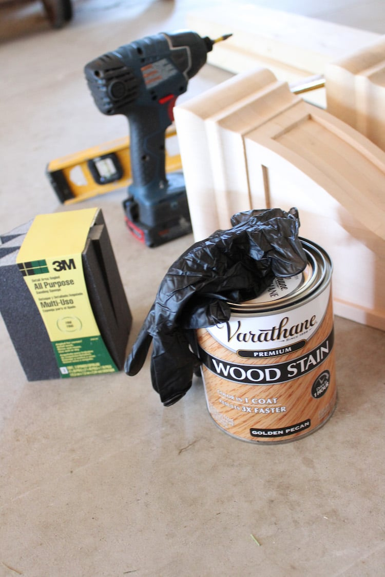 How to build a large wall shelf with Varathane Premium