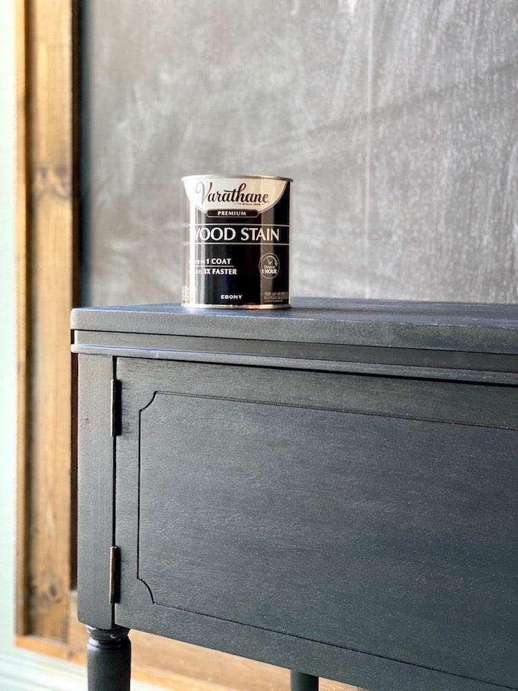 Furniture repair with Varathane Premium Interior wood stain