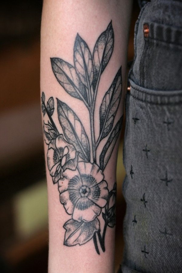 Top Most Beautiful Floral Tattoos Designs