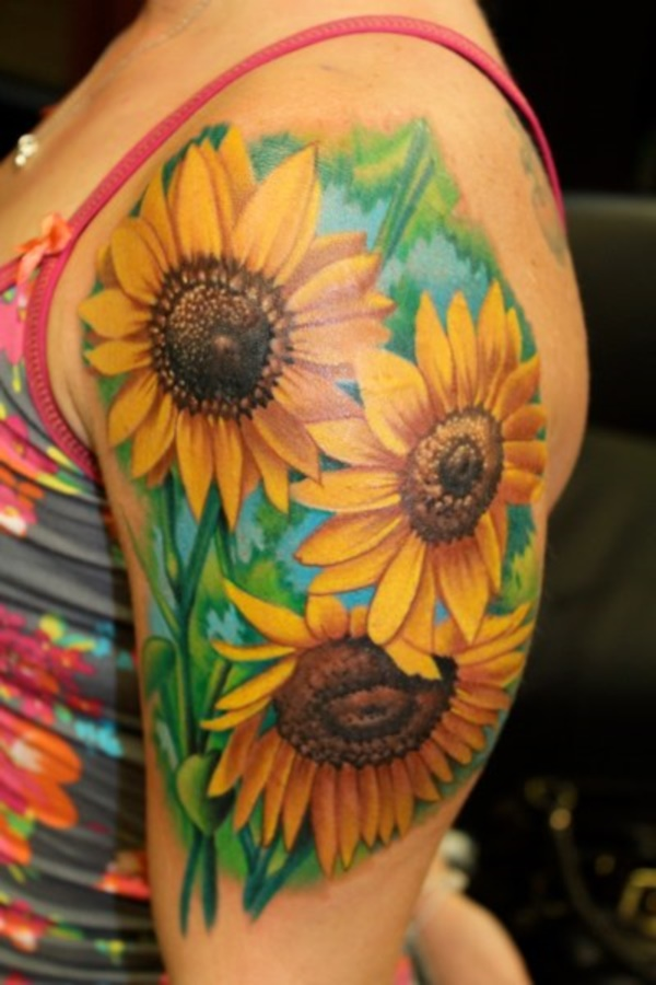 Beautiful Floral Tattoos Designs that'll blow your Mind0091