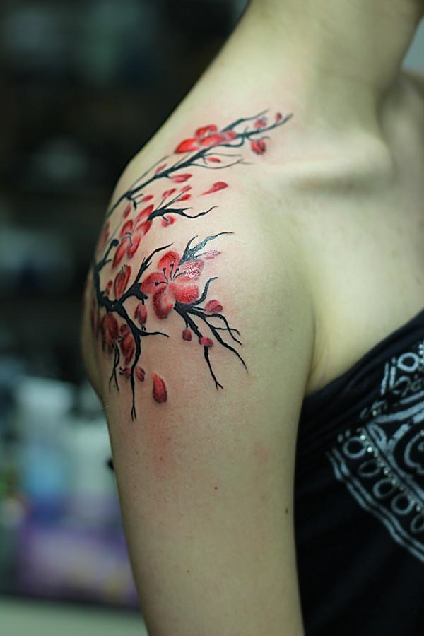 Beautiful Floral Tattoos Designs that'll blow your Mind0061