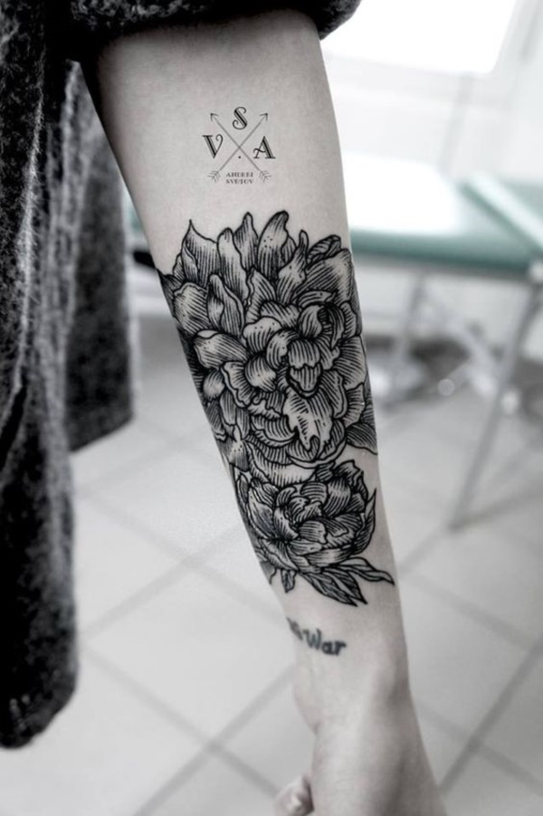 Floral Tattoos Designs that'll blow your Mind0341