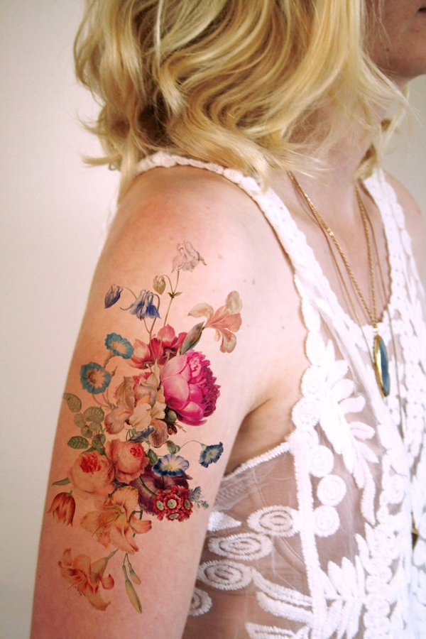 Floral Tattoos Designs that'll blow your Mind0221