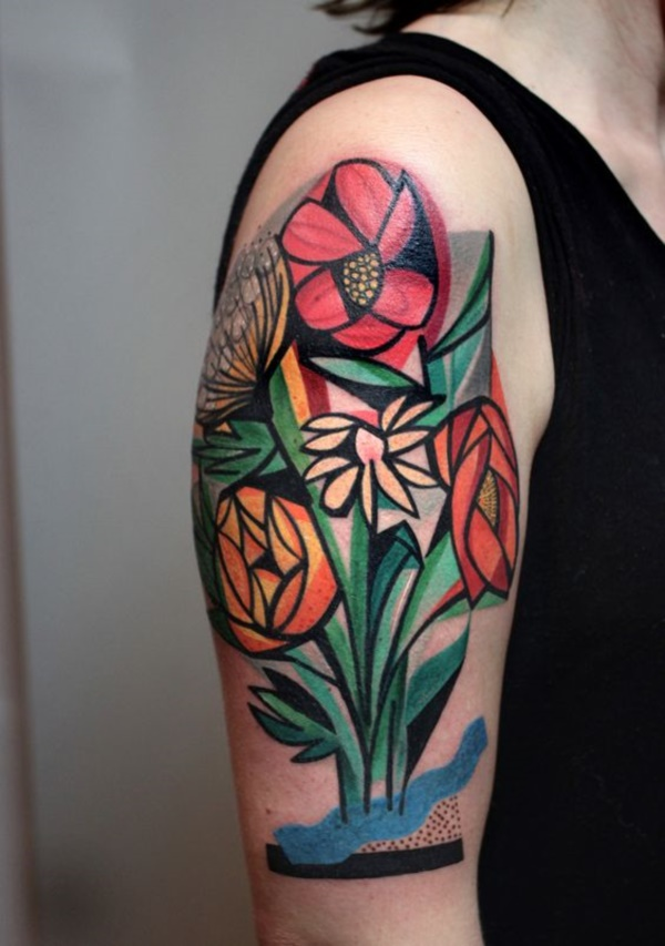 Floral Tattoos Designs that'll blow your Mind0311