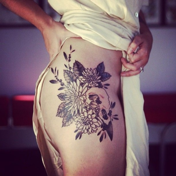 Floral Tattoos Designs that'll blow your Mind0411