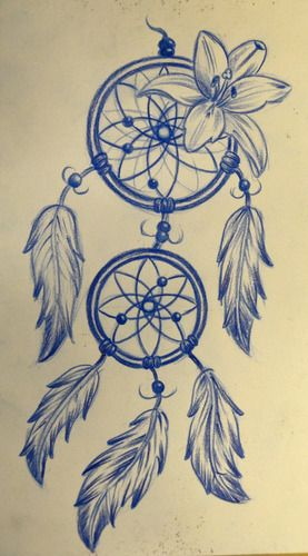 Rose And Dreamcatcher Tattoo (7)
