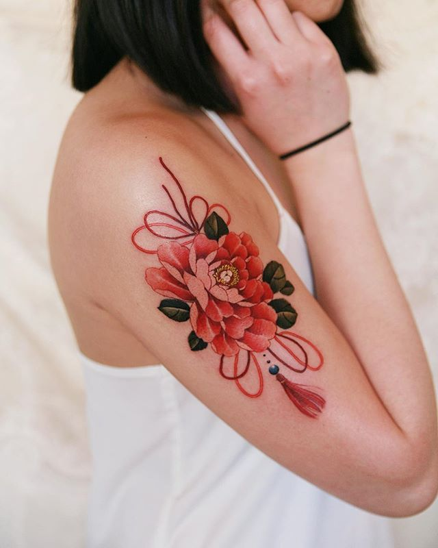 Belly Button Tattoos For Females (44)