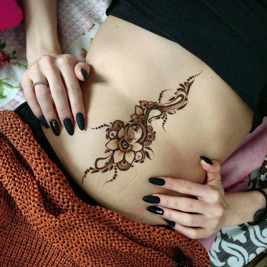 Belly Button Tattoos For Females (61)