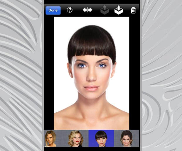 Change Hair Color: Celebrity Hair Makeover Booth