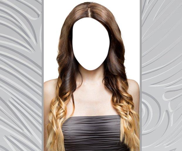 Change Hair Color: Ombre Hair Salon Photo Editor