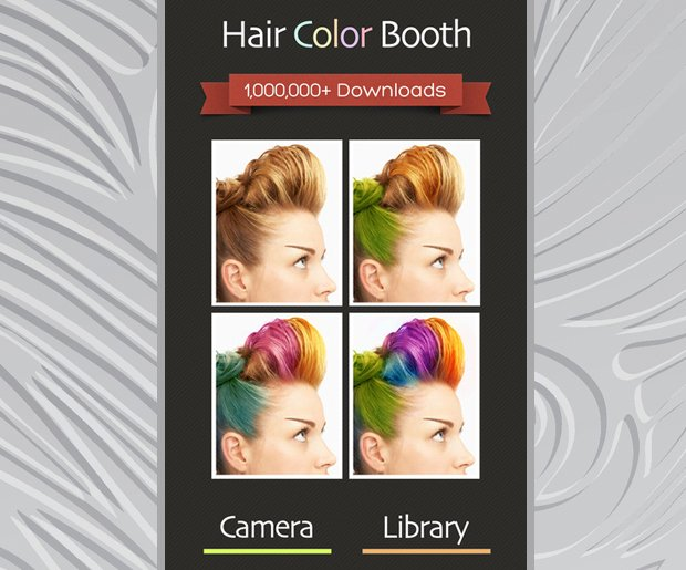 Change Hair Color: Hair Color Booth