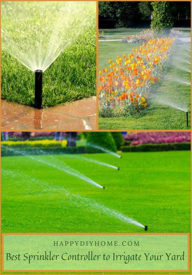 Best Sprinkler Controller to Irrigate Your Yard Cover