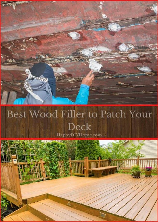 Best Wood Filler to Patch Your Deck