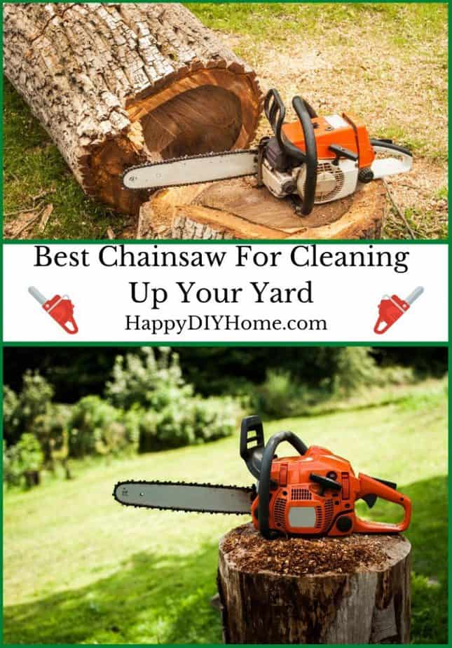 Best Chainsaw for Cleaning Up Your Yard Cover