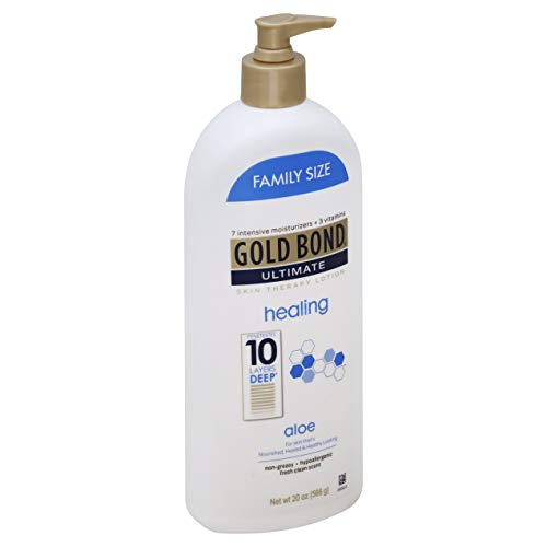 Gold Bond Ultimate Healing Skin Therapy Lotion with Aloe, Family Size, 20 oz