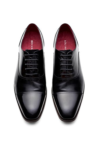 The Bolvaint Verrocchio Dress Shoe in Black Calfskin (US 12 Men)