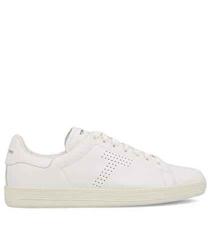 Tom Ford Luxury Fashion Mens J1045TDAPBRR White Sneakers | Fall Winter 19