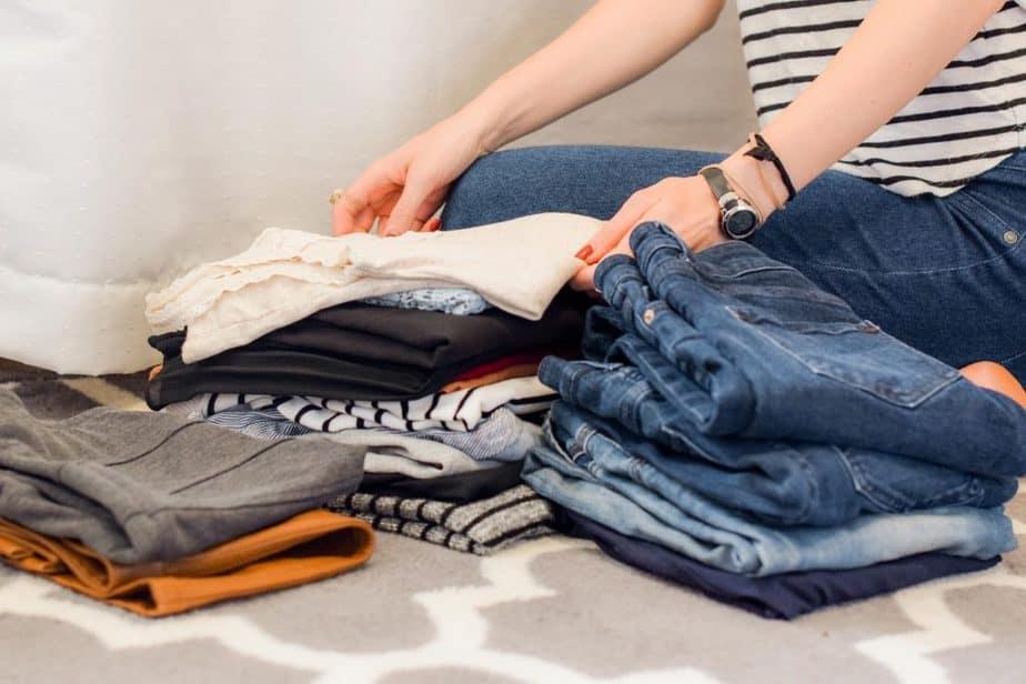 3 fold clothes