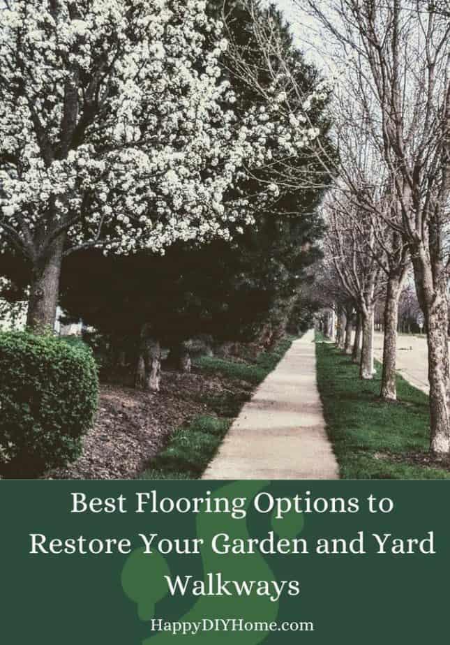 Best Flooring Options to Restore Your Garden and Yard Walkways Cover