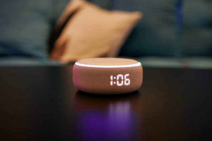 Amazon Echo Dot 3rd generation watch angle