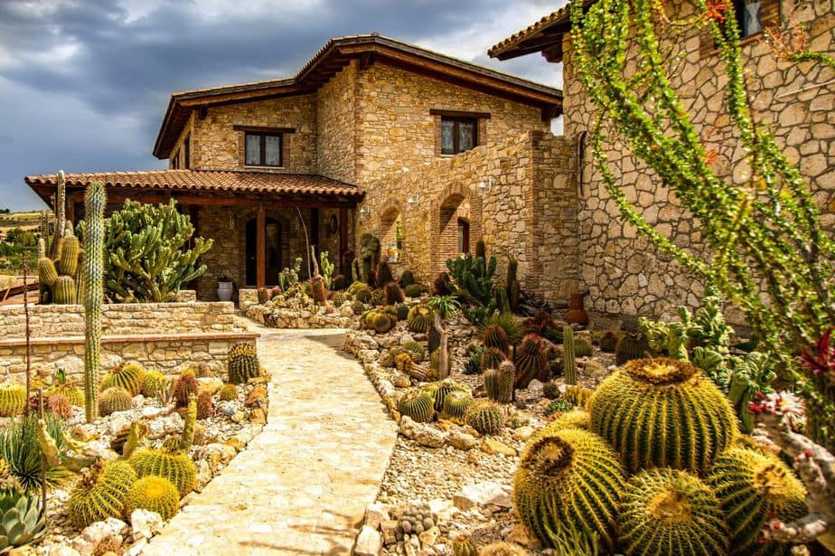 6. Example of well designed xeriscape BELOW