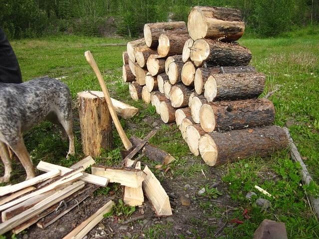 fire wood log splitter