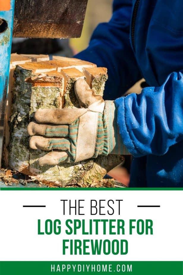 Best Log Splitter for Firewood Covers