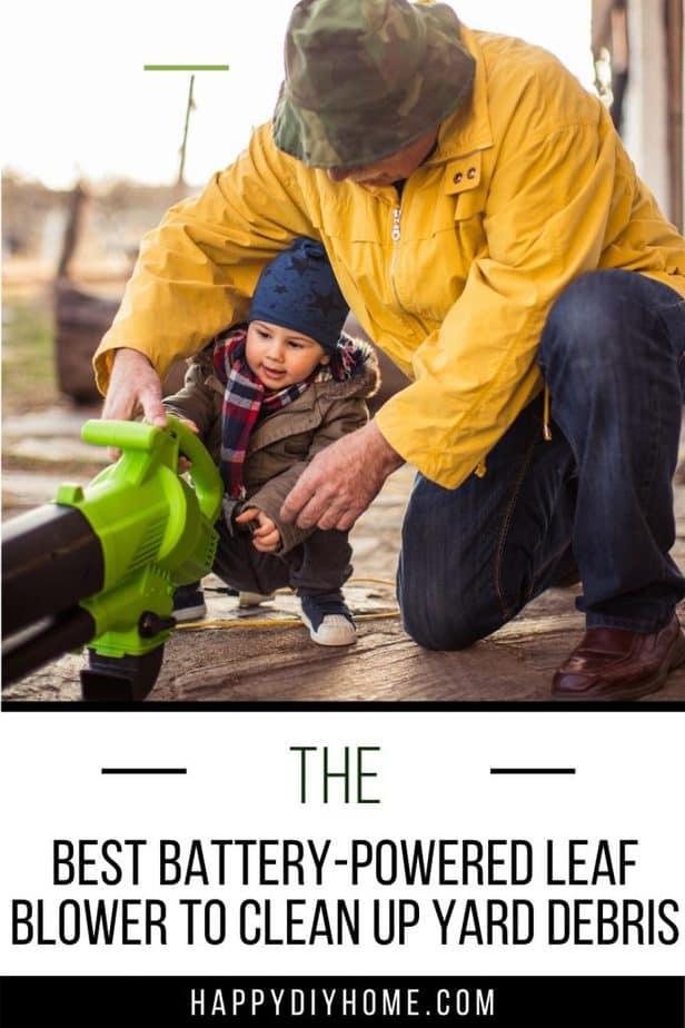 battery powered leaf blower 2