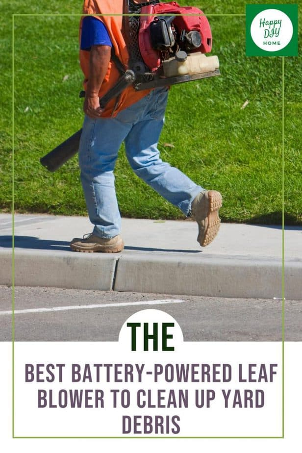 battery powered leaf blower 1