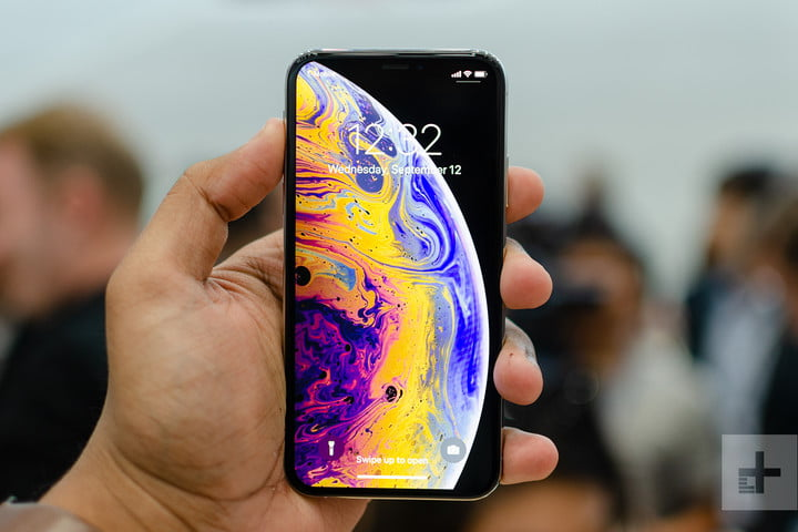 Apple iPhone XS at your fingertips