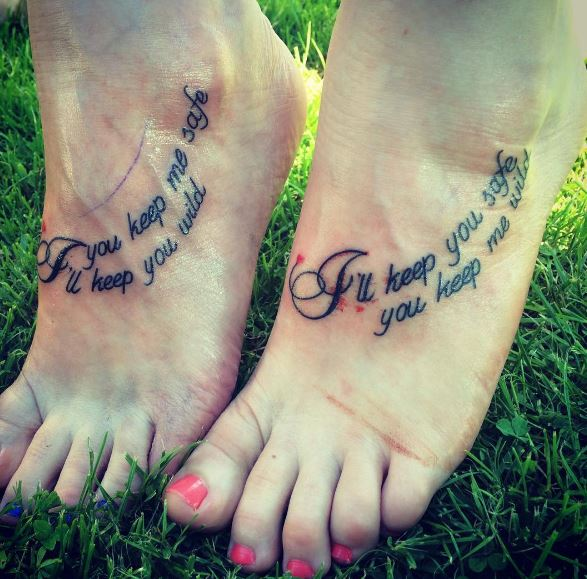Female Best Friend Tattoos