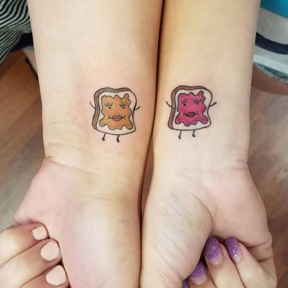 Cute Best Friend Tattoos