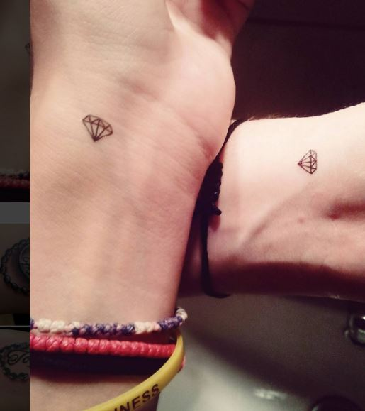 Tiny Best Friend Tattoos