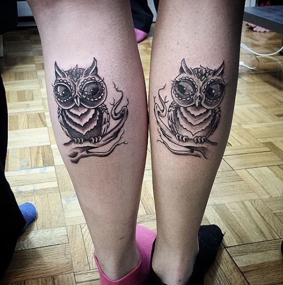 Best Friend Owl Tattoos